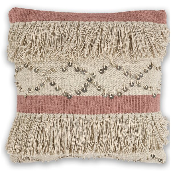 Crotty 100% Cotton Throw Pillow by Bungalow Rose